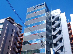 フクダ電子ビル外壁改修工事イメージ