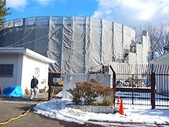 仙台市水道局 高森配水所配水池屋上防水及び外壁改修工事イメージ